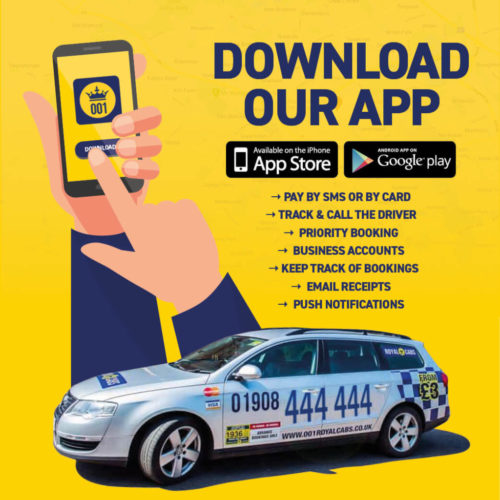 001 royal cabs taxi app